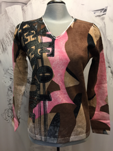 Load image into Gallery viewer, Faber print sweater