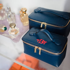 No. 40 The Small Vanity Case Saffiano