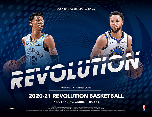 2020-21 Panini Revolution Basketball
