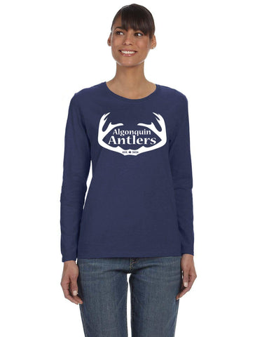 Algonquin Antlers Long Sleeve Shirt Women's