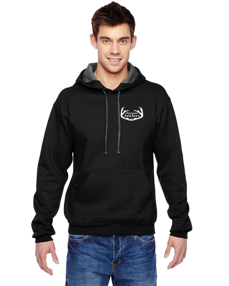 Algonquin Antlers Hoody - Small Logo