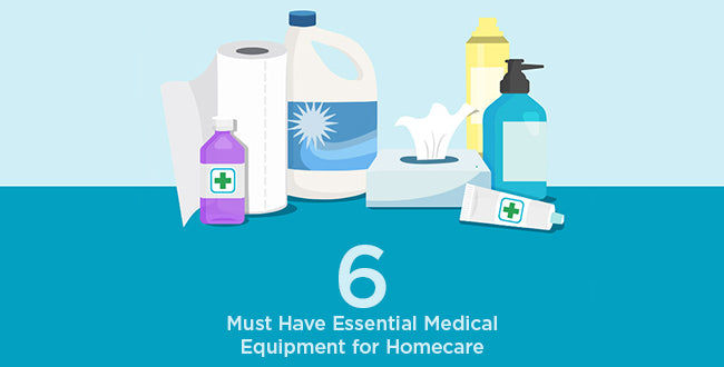 6 Must Have Essential Medical Equipment for Homecare