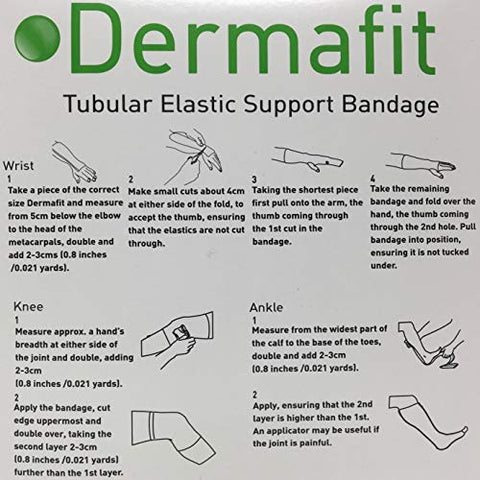 Tubular Support Bandage Dermafit Pull On Natural Size L NonSterile (1 Each)