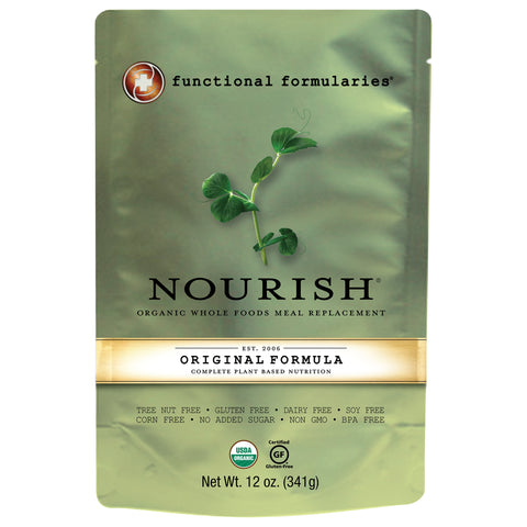 Pediatric Oral Supplement Nourish Vegetable / Rice Flavor 12 oz. Pouch Ready to Use