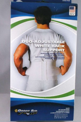 "Back Support Belt Sport-Aid X-Large Hook & Loop Closure 40 to 55"" Adult (1 Each)"