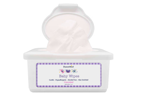 Baby Wipe DawnMist Tub Aloe / Lanolin Unscented