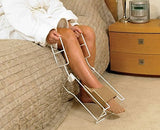 Rehabilitation Advantage Comfortable 90 Degrees Long Handle Wire Stocking Donner