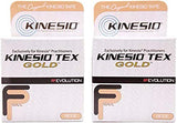 "Kinesio Tex Gold FP Tape - Beige - 2"" x 16.4' - Pack of 2"