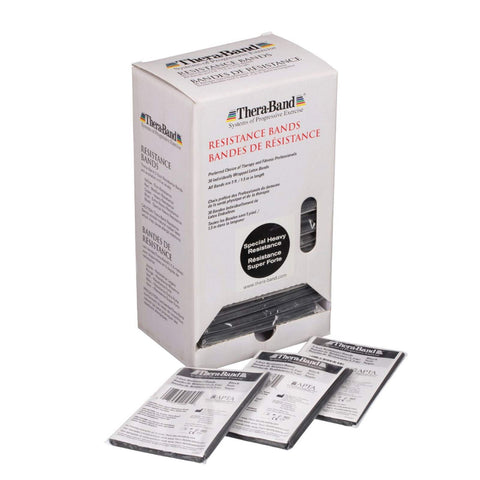 "Thera-band black 5"" Box/30"