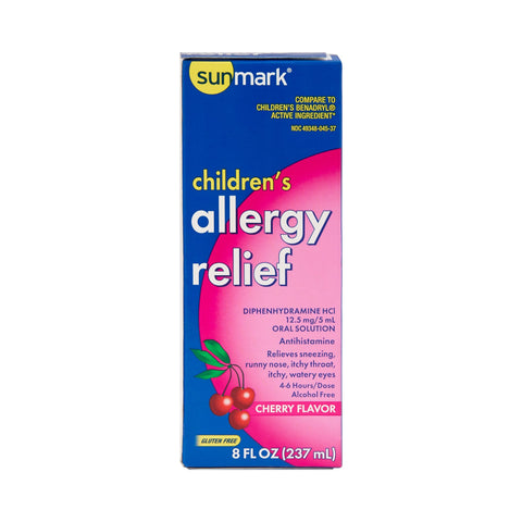 Children's Allergy Relief sunmark 12.5 mg / 5 mL Strength Liquid (1 Each)