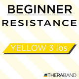 Theraband Resistance Band Loops (Yellow, 8-Inch)