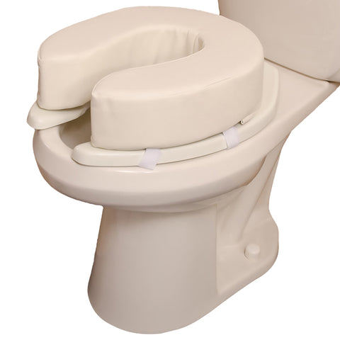 Toilet Seat Cushion DMI White Without Stated Weight Capacity (1 Each)