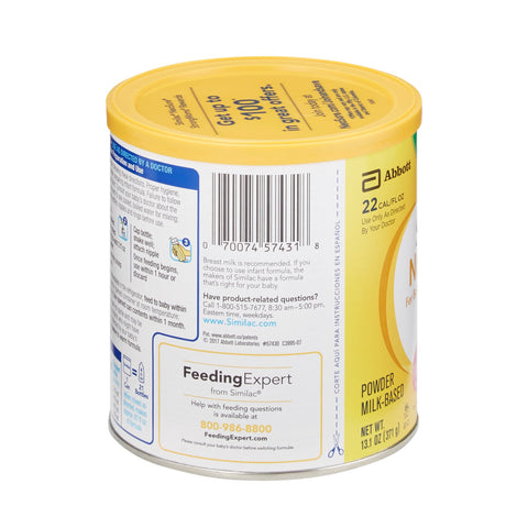 Infant Formula Similac NeoSure 13.1 oz. Can Powder