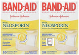 "Adhesive Strip with Neosporin Band-Aid Neosporin 3/4""x3""/1""x3"" (Box of 20)"