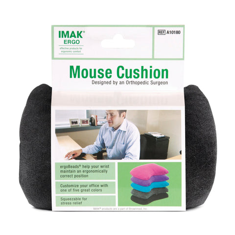 IMAK A10165 Black Mouse Cushion 3PK