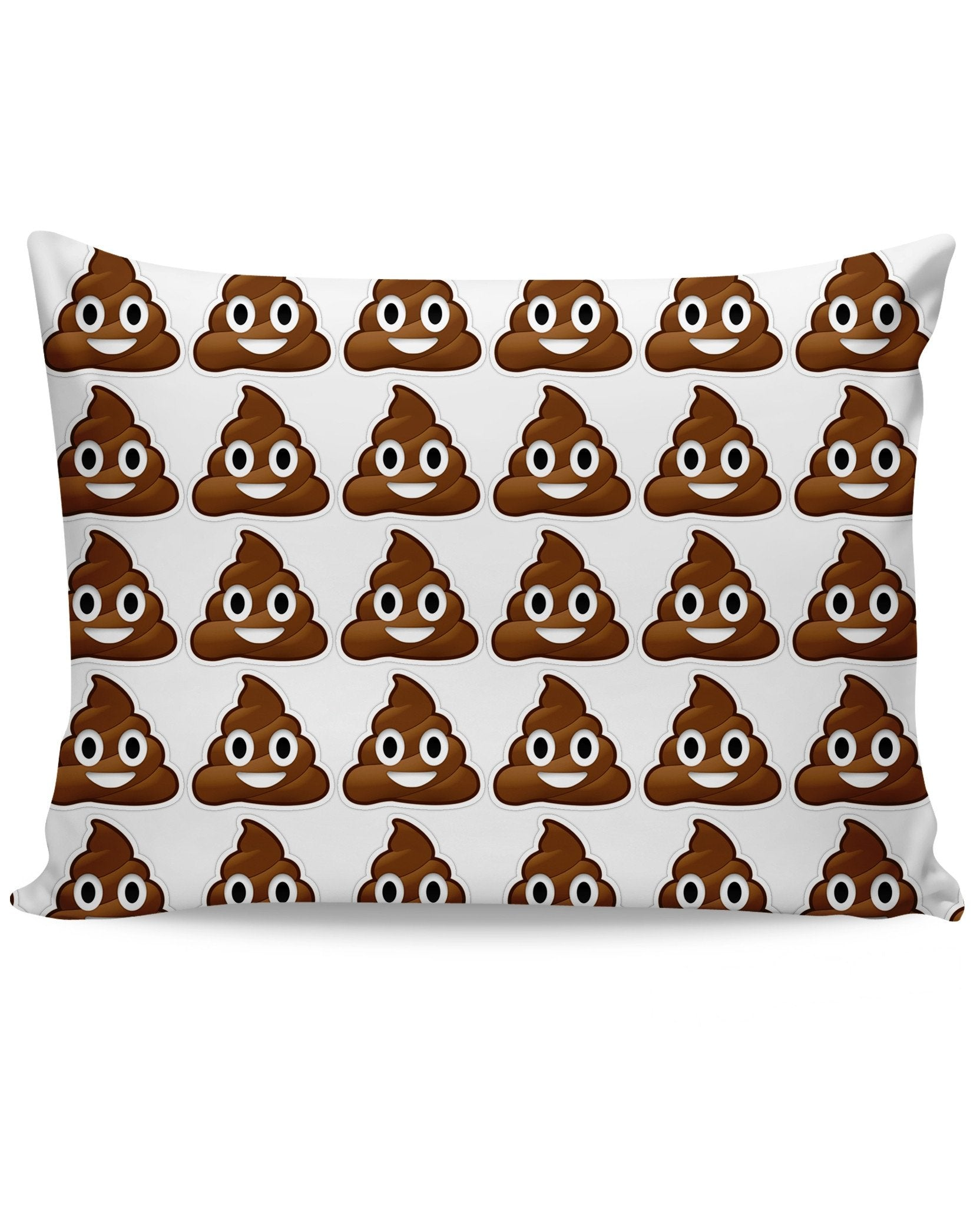 Poop Emoji Pillow Case