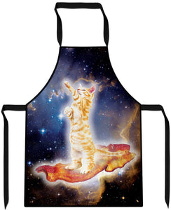 Bacon Cat Cooking Apron
