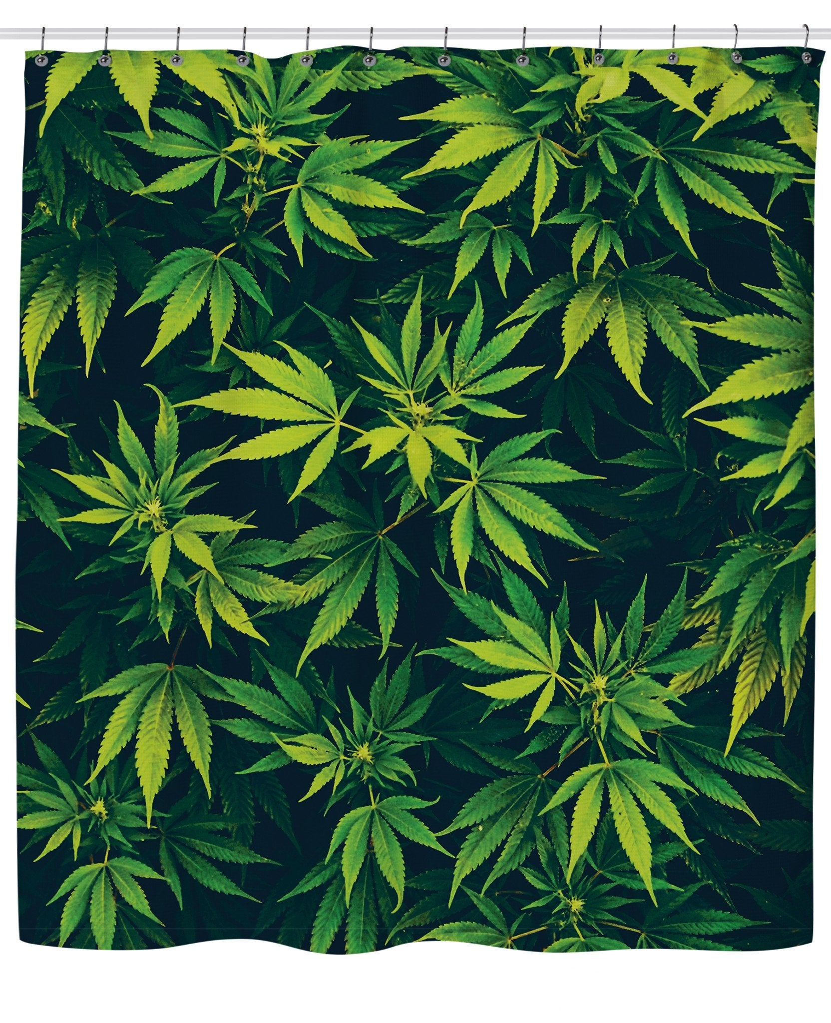 Weed Shower Curtain