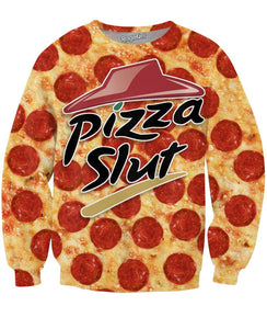Really a Pizza Slut Crewneck Sweatshirt