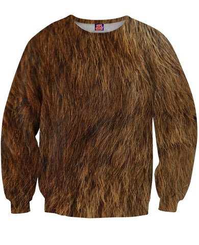 Bear Fur Sweatshirt