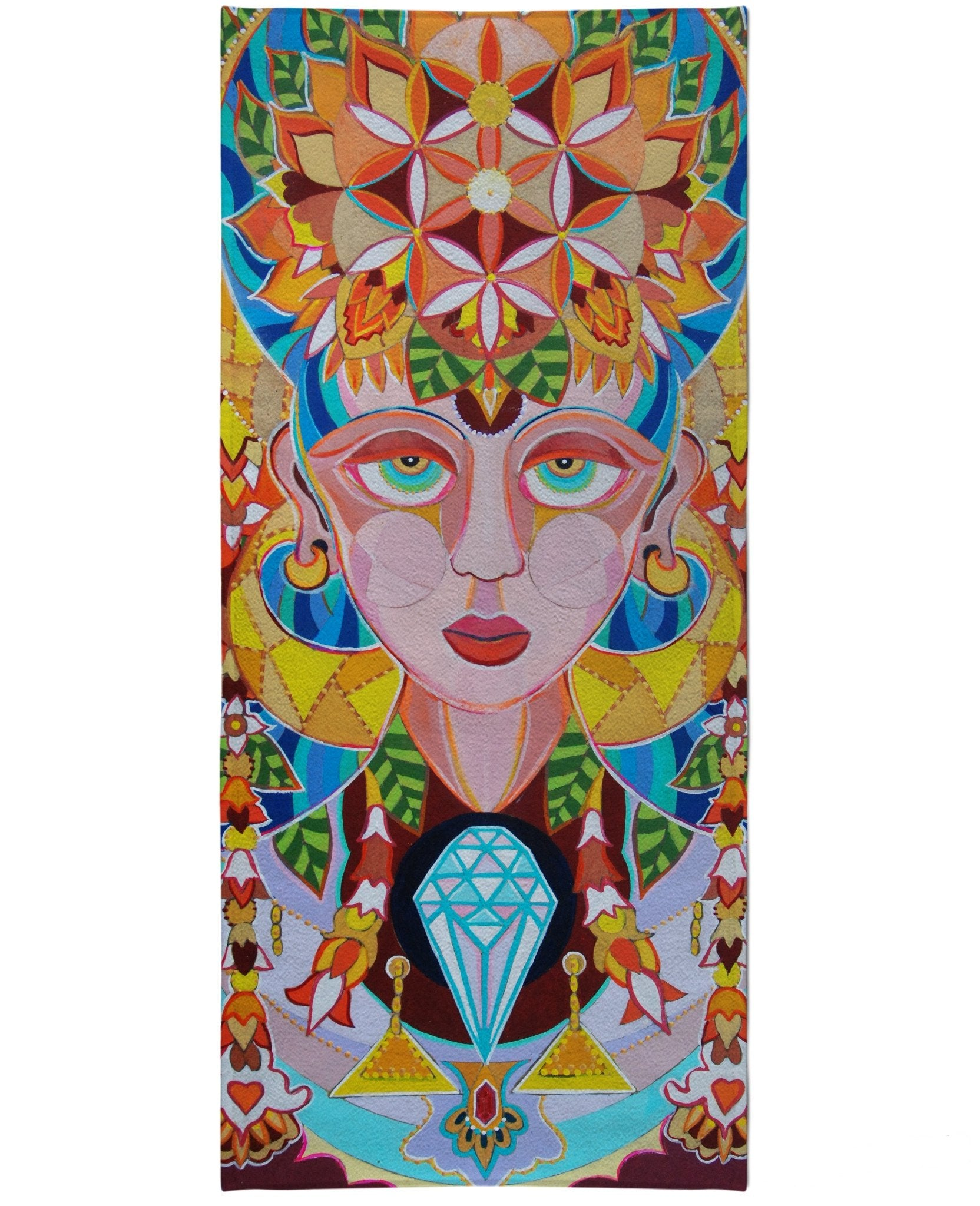 Gaia Beach Towel