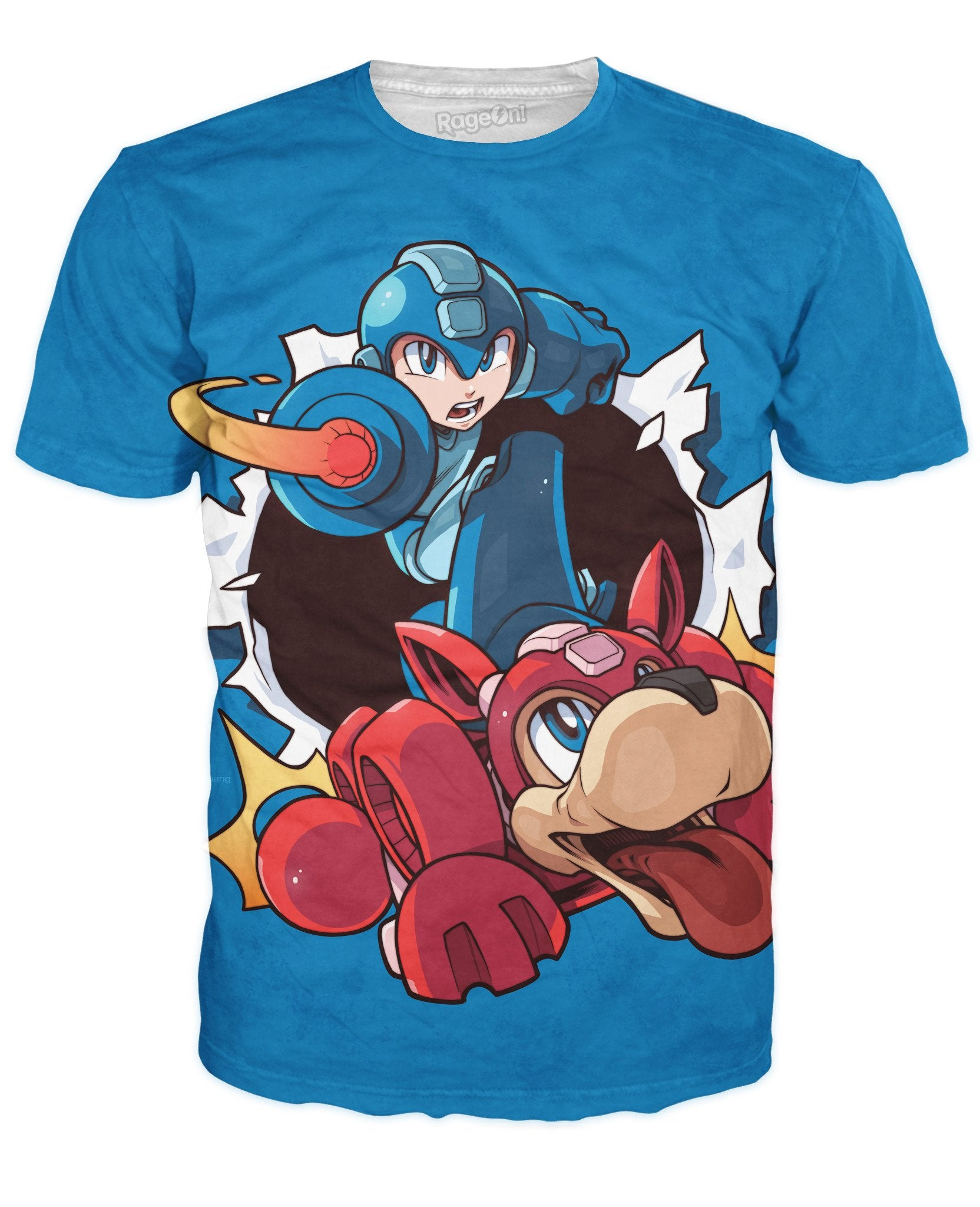 Mega Man Blue T-Shirt