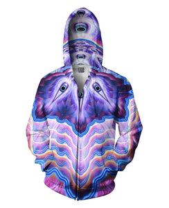 Layers of Vision Zip-Up Hoodie