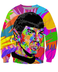 Mr. Spock Crewneck Sweatshirt