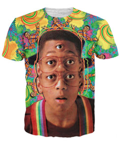 Psychedelic Urkel T-Shirt