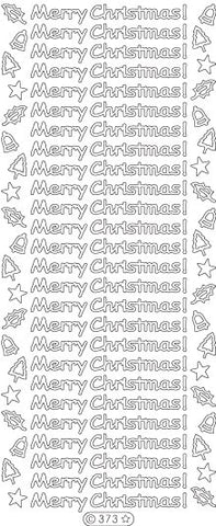 0373 - Merry Christmas - Starform Stickers