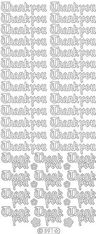 0391 - Thank You - Starform Stickers