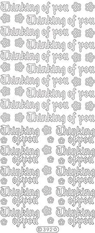 0392 - Thinking of You - Starform Stickers