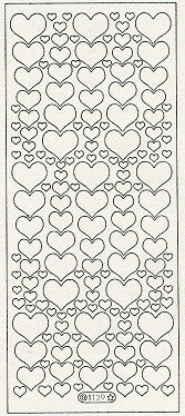 1139 - Hearts - Starform Stickers