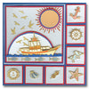 1172 - Nautical Items - Starform Stickers