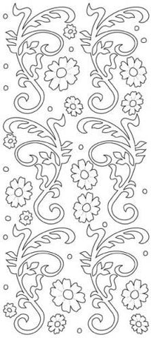 191200 - Home Deco/Leaves/Flowers - JeJe Stickers