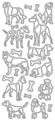 0680 - Dogs - JeJe Stickers