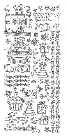 226400 - Birthday - JeJe Stickers