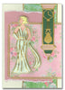 1245 - Vintage Lady - Starform Stickers