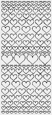 7500 - Hearts - JeJe Stickers