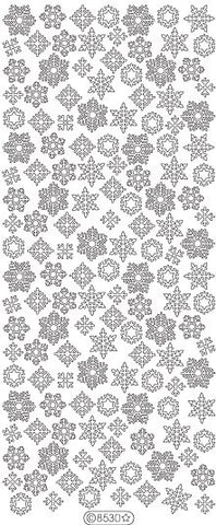 8530 - Snowflakes - Starform Stickers