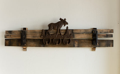 Outdoor Themed Barrel Stave Hanger