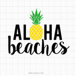 Aloha Beaches Svg Clipart - svgize