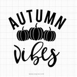 Autumn Vibes Svg Saying - svgize