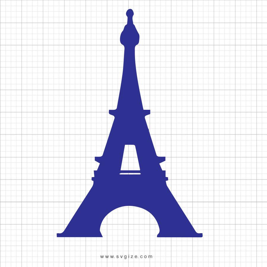 Eiffel Tower Svg Clipart - svgize