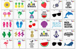 Fun In The Sun Svg Clipart Printables Craft Bundle - svgize