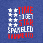 Time To Get Star Spangled Hammered, July 4th Svg, Merica Svg, America Svg, July 4th Svg, Silhouette Cut Files, Cricut Cut Files, Svg
