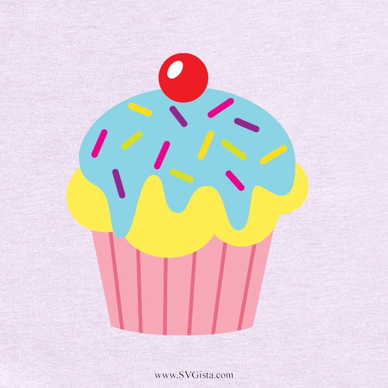 Cupcake Svg, Sweets Svg, Cupcake SVG, Baking Svg, Cricut, Svg, Cut File, Clip Art, Printable For Crafters And Designers, Svg, Dxf, Png, Jpeg - ClipartAccess