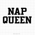 Nap Queen SVG Design - svgize