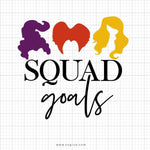 Squad Goals Svg Saying - svgize