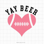 Yay Beer Svg Saying - svgize